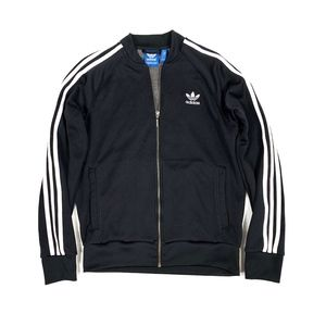 Adidas Originals 3-Stripes Full-Zip Fleece Jacket
